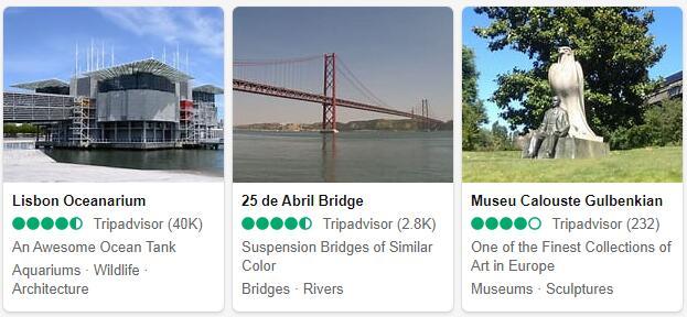 Lisbon Attractions 2