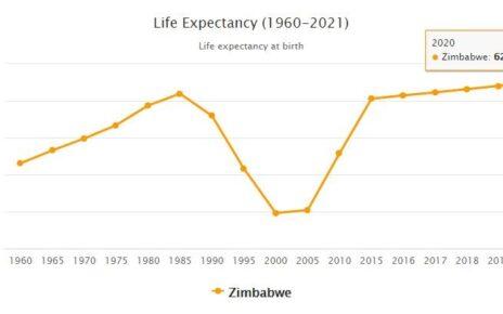 Zimbabwe Life Expectancy 2021
