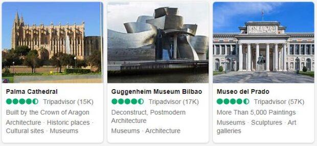 Spain Top Sights