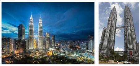 Petronas Towers in Kuala Lumpur