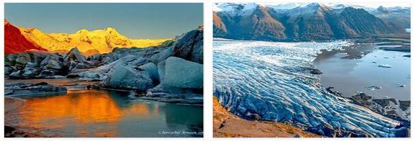 Vatnajökull National Park on Iceland