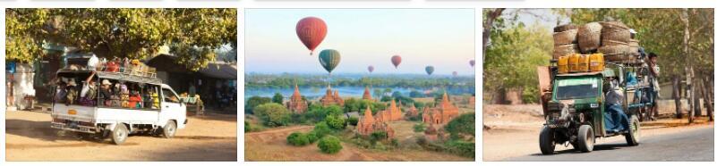 Bagan, Myanmar Transportation
